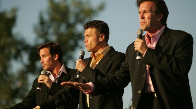 Sean McDermott, Brent Barrett, George Dvorsky-Albany Symphony Orchestra